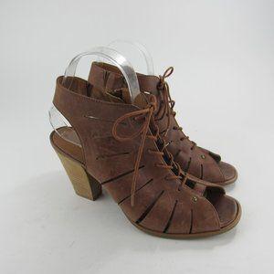 Paul Green Shoes - Paul Green Cosmo Gladiator Peep Toe Sandals Sz 4.5